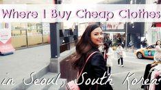 Where I Buy Cheap, Trendy Clothes in Korea | Shopping Tour of Ewha Unive...