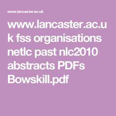 www.lancaster.ac.uk fss organisations netlc past nlc2010 abstracts PDFs Bowskill.pdf