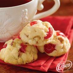 Cherry Coconut Cookies from Crisco�