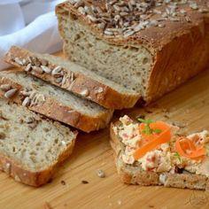 Good Food, Yummy Food, Keto Bread, Banana Bread, Food And Drink, Menu, Homemade, Baking, Health