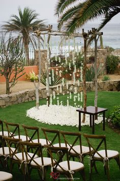 Beach view wedding in Cabo San Lucas via Lazy Gourmet Catering and Events. Photo by Chris+Lynn Photographers. #destinationwedding #cabowedding #cabosanlucas #lazygourmet #lazygourmetcatering #lazygourmetcabo #brideandgroom #catering #weddingplanning #wedding #cabocatering #appetizers #fingerfood #weddingreception