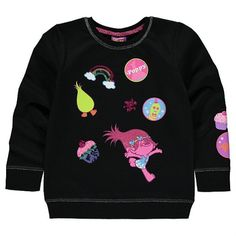 Girls Trolls Sweatshirt