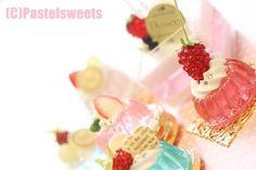 Mini Pastries, Gadget, Kawaii Jewelry, Mini Things, Decoden, Mini Foods, Clay Projects, Diy Jewelry, Artsy
