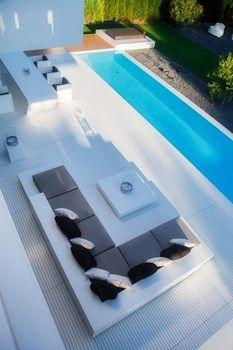 Casa Dreer: estetica minimalista in total white