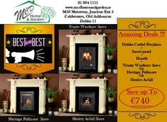 01 804 1111 sales@mcdhomeandgarden.ie Dublin, Multi Fuel Stove, Fireplace Inserts, Hearth, Home And Garden, Home Decor, Wood Burning Insert, Home, Stove