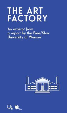 Art Factory report (graphic design - Krzysztof Bielecki)
