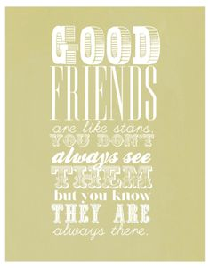 Grateful for friendship today.
