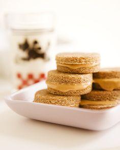 Sweet Paul's DIY Dog Treats: Peanut Snack Sandwiches Recipe #ForTheDogs #DogTreats