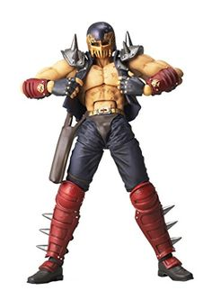Kaiyodo Legacy of Revoltech: Fist of the North Star: Jagi Action Figure Kaiyodo http://www.amazon.com/dp/B00LY4QM58/ref=cm_sw_r_pi_dp_p14Ivb1GHAP6H