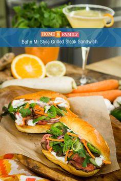 325 best recipes season 4 images on pinterest hallmark channel bahn mi style grilled steak sandwich forumfinder Choice Image