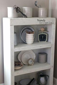 Laminate Bookshelf Repurposed