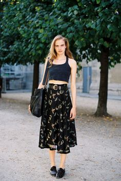 (via Vanessa Jackman: Paris Fashion Week SS 2012…After Léonard)