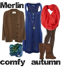 BBC Merlin-  would rock this and then (obviously) pretend I have magic (discreetly) all day.