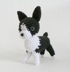 AmiDogs Boston Terrier amigurumi crochet pattern : PlanetJune Shop, cute and realistic crochet patterns & more