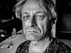 Scruffy, gray stubble - Judge Turpin 2015