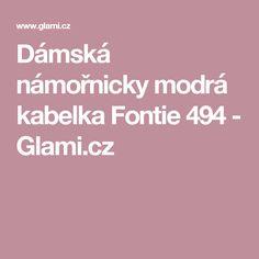 Dámská námořnicky modrá kabelka Fontie 494 - Glami.cz