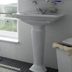 3D Classic Washbasin Model - 3D Model