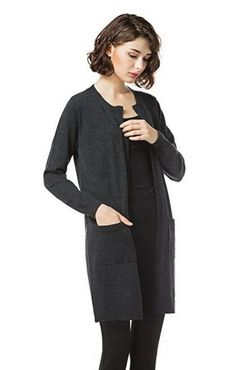 Knitbest Crew Neck Long Sleeve Open Front Merino Sweater Cardigan100%merino woolDelicate Machine Wash with Similar Colours-Cold (30° Max)Model: 178cm/70.13inch, 119lbs, Bust:82cm/32.3inch, Waist:61cm/24.03inch, Hip:88cm/34,67inch