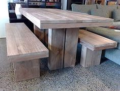 Industrial tablerecycled timber and steel Recycled Lane