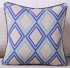 New Modern Printed Blue Diamonds Thick Cotton Fashion Art Decorative Pillow Case Cushion Cover Sham Great Deal Happy,http://www.amazon.com/dp/B00EHKD09M/ref=cm_sw_r_pi_dp_Wm1Esb1WD06THT5A
