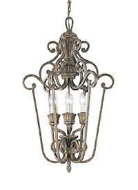 65252-758,Three Light Pendant,Regal Bronze (sea gull lighting)