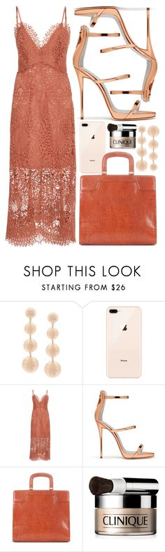 """Coral"" by cherieaustin on Polyvore featuring Proenza Schouler, Giuseppe Zanotti, Dries Van Noten and Clinique"
