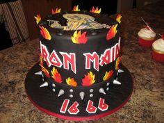 Heavy Metal Iron Maiden Cake — Music / Musical Instruments