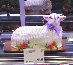 Lamb Cake, frosting inspiration