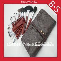 24pcs cepillo profesional del maquillaje / kit de cepillo cosméticos , belleza Necesidades de cepillo del maquillaje , excelente bolsa de cuero