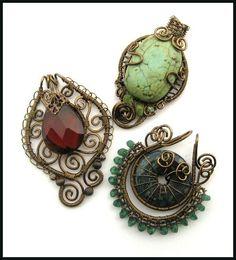 vintaj trio by annie-jewelry.deviantart.com on @deviantART