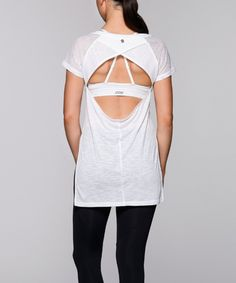 Take a look at this White Time Out Tee today!