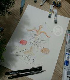 #signs #astrology #horoscope #drawing #art #calligraphy #letter #watercolor #illustration #Aries #gemini #taurus #cancer #lion #Virgo #Libra #Scorpio #Sagittarius #Capricorn #Aquarius #Fish