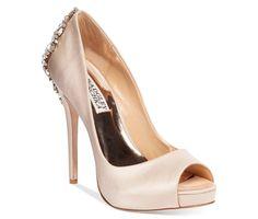 Badgley Mischka Kiara Platform Evening Pumps - Evening & Bridal - Shoes -  $245