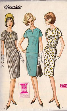 1960s Misses Dress or Top and Skirt Vintage by MissBettysAttic, $10.00