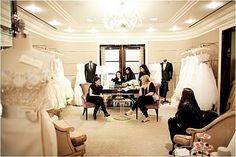 Bergdorf's Bridal Salon? Yes, please.
