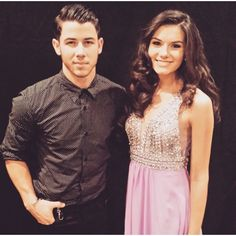 Miss Teen USA K. Lee Graham looks absolutely gorgeous in #Faviana #Style S7500 with #NickJonas