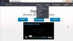 10.- Curso de Java EE. Mejorar la presentación con PrimeFaces.