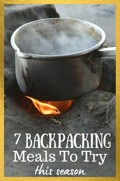 Believe it or not, I do not forage for food, but do plan ahead and pack some good hiking food so I can cook up my own backpacking meals on my hiking trips. Click to see some of my favorite, go-to backpacking meals and recipes! | 7 easy backpacking meal ideas | Camping meals | #backpacking #hiking #backpackingtips