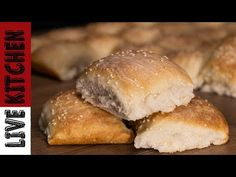 YouTube Kitchen Living, Easy Cooking, Hamburger, Bread, Youtube, Food, Easter, Live, Rezepte