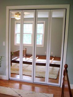 Marvelous A Homeowneru0027s Touch: Updating Bi Fold Mirrored Doors