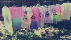 t-shirt alien soft pastel pastel cross shirt tshirt dress aliens grunge soft grunge hipster punk punk tie dye tye dye shirt, tumblr pastel goth