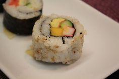Aprenda a fazer Receita de Sushi de legumes fácil, Saiba como fazer a Receita de Sushi de legumes fácil, Show de Receitas