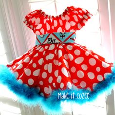Dr. Seuss Cindy Lou Who Dress