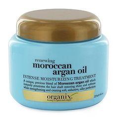 Organix Renewing Moroccan Argan Oil Intense Moisturizing Oil (smells amazing)