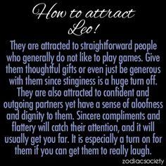 How to atract LEO' s