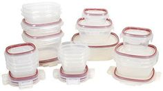 Rubbermaid Easy Find Lids Lock-its Food Storage Container BPA-free Plastic 34-piece Set (1882084)