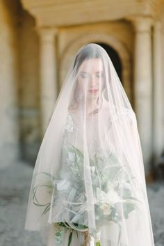 romantic wedding veil длинная фата