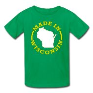 cool shirts! Wisconsin!