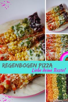 regenbogen pizza