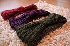 Knitting head band